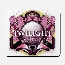 Twilight Australia Crystal Pink Crest Mousepad