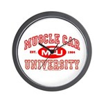 Musclecar University III Wall Clock