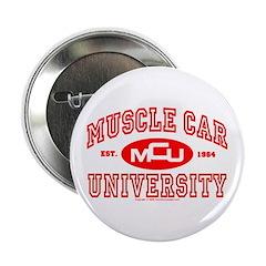 """Musclecar University III 2.25"""" Button"""