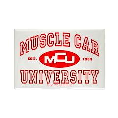 Musclecar University III Rectangle Magnet