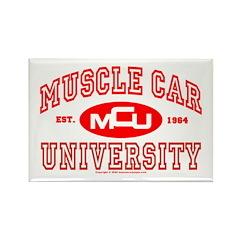 Musclecar University III Rectangle Magnet (10 pack