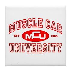 Musclecar University III Tile Coaster