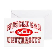 Musclecar University III Greeting Card
