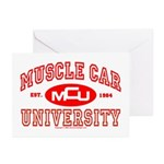 Musclecar University III Greeting Cards (Pk of 10)