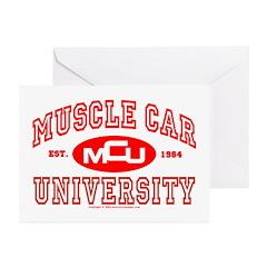 Musclecar University III Greeting Cards (Pk of 20)