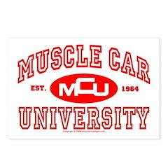 Musclecar University III Postcards (Package of 8)