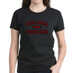Real Men Drive Muscle Cars Women's Black T-Shirt