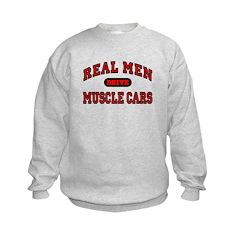 Real Men Drive Muscle Cars Sweatshirt