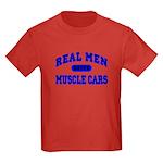 Real Men Drive Muscle Cars II Kid's T-shirt Dark