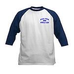 Real Men Drive Muscle Cars II Kids Baseball Jersey