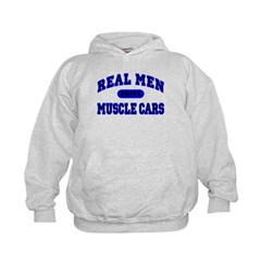 Real Men Drive Muscle Cars II Hoodie