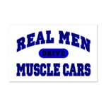 Real Men Drive Muscle Cars II Mini Poster Print