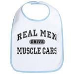 Real Men Drive Muscle Cars III Bib
