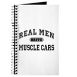 Real Men Drive Muscle Cars III Journal
