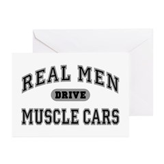 Real Men Drive...III Greeting Cards (20 Pack)
