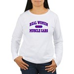 Real Women Drive...II Women's Long Sleeve T-Shirt