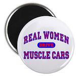"Real Women Drive...II 2.25"" Magnet (100 pk.)"