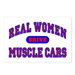 Real Women Drive...II Postcards (Package of 8)