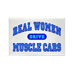 Real Women Drive...III Rectangle Magnet (100 pack)