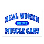 Real Women Drive...III Postcards (Package of 8)