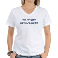 Super Charged Women's V-Neck T-Shirt