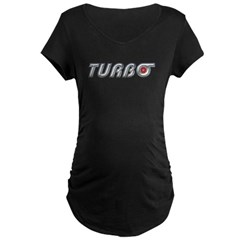 Turbo Maternity Dark T-Shirt