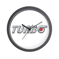 Turbo Wall Clock