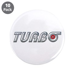 "Turbo 3.5"" Button (10 pack)"