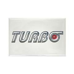Turbo Rectangle Magnet (10 pack)