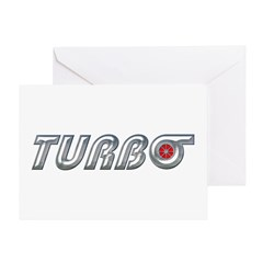 Turbo Greeting Card