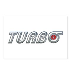 Turbo Postcards (Package of 8)