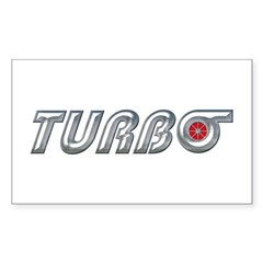 Turbo Rectangle Decal