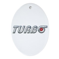 Turbo Oval Ornament