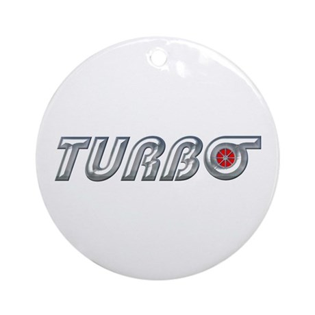 Turbo Ornament (Round)