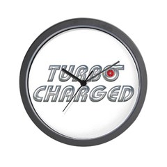 Turbo Charged Wall Clock