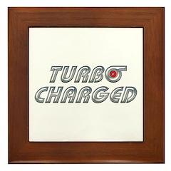 Turbo Charged Framed Tile