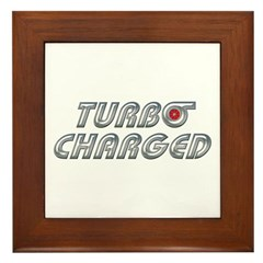 Turbo Charged Framed Tile