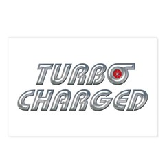Turbo Charged Postcards (Package of 8)