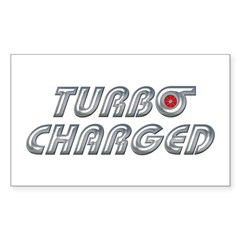 Turbo Charged Rectangle Decal