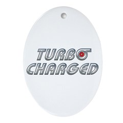 Turbo Charged Oval Ornament