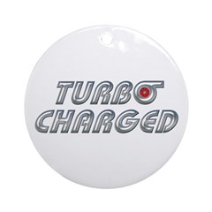 Turbo Charged Ornament (Round)