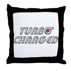 Turbo Charged Throw Pillow
