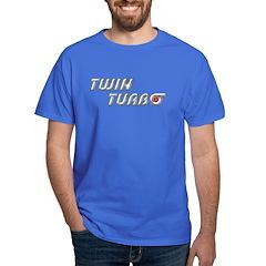 Twin Turbo Dark Colored T-Shirt