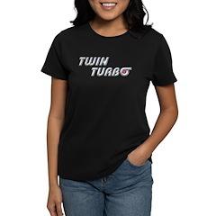 Twin Turbo Women's Dark T-Shirt