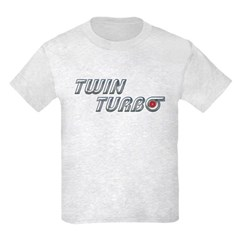 Twin Turbo Kids T-Shirt Light Colored