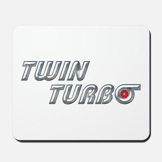 Twin Turbo Mousepad