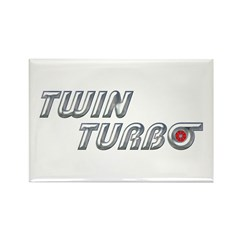 Twin Turbo Rectangle Magnet (10 pack)