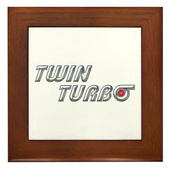 Twin Turbo Framed Tile