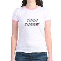 Twin Turbos Jr. Ringer T-Shirt