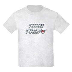 Twin Turbos Kids Light T-Shirt